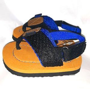 NWT Adorable Baby IZOD Flip Flop Velcro Sandals